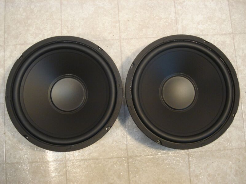 """NEW (2) 10"""" Subwoofers Replacement Speakers.4 ohm.ten inch Woofer Pair.Bass Mid"""