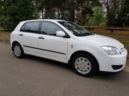 2006 Toyota Corolla Ascent Hatchback 5dr Auto 4sp 1.8i