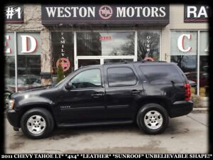 2011 Chevrolet Tahoe LT **4X4 *LEATHER *SUNROOF *UNBELIEVABLE SH