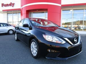 2018 Nissan Sentra 1.8 S w/back up cam, sunroof, $132.30 B/W LOW