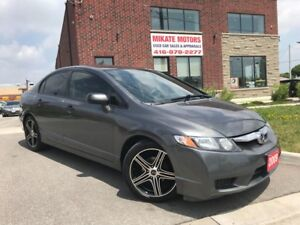SHARP & SPORTY 2009 HONDA CIVIC DX-G $4,499, FULLY CERTIFIED