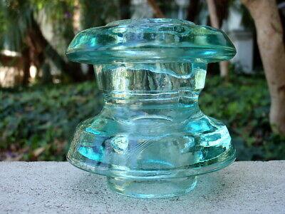 MINT- FANCY THREADLESS MIVA V117 AVB 75 Glass Spool Insulator