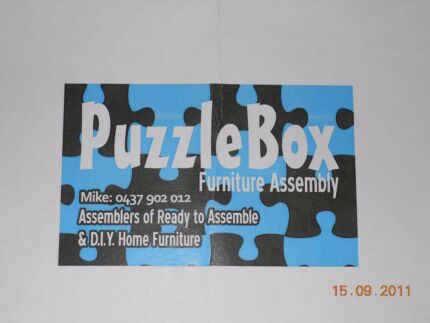 PuzzleBox Furniture Assembly  Perth City Area. Springfree and Normal Spring Trampoline Assemblies   Handyman