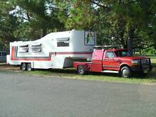 Ford F450 5th wheeler combination Hinton Port Stephens Area Preview