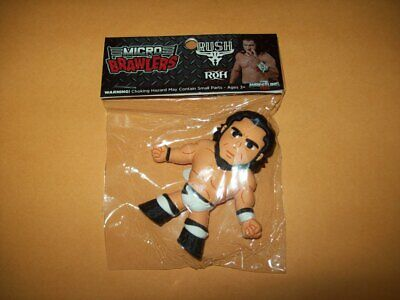 Micro Brawler RUSH Pro Wrestling AEW WWE WWF NXT WcW NWA Ring of Honor CMLL dx