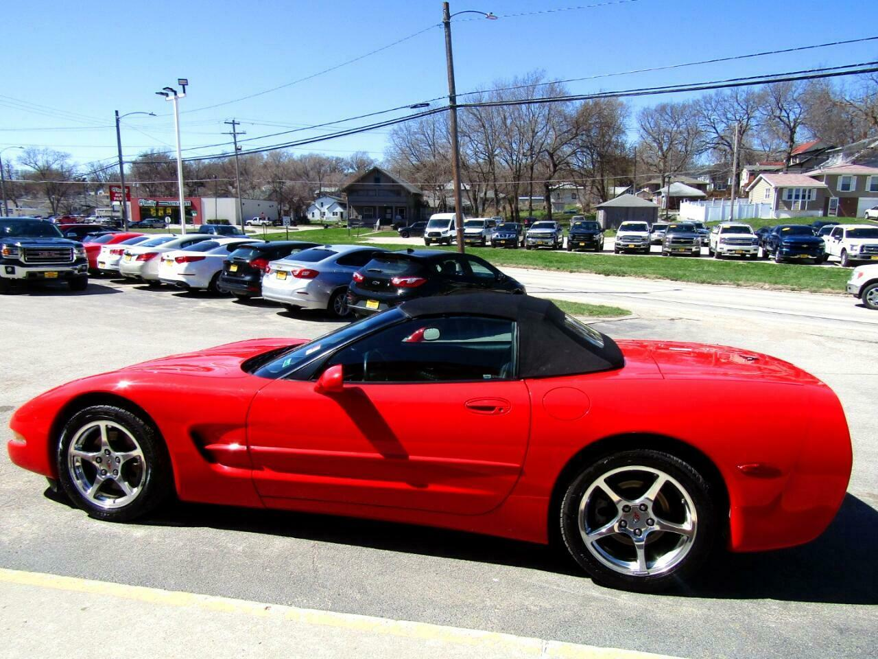 2004 Red Chevrolet Corvette Convertible  | C5 Corvette Photo 7
