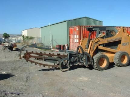 CHAIN DIGGER ATTACHMENT FOR SKID STEER Aldinga Beach Morphett Vale Area Preview