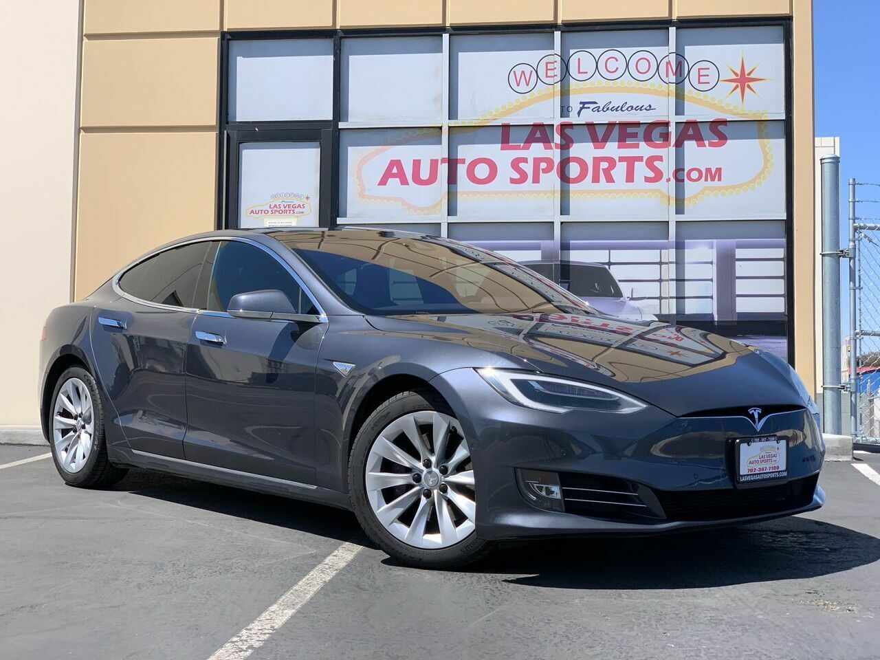 2016 Tesla Model S, Gray with 48134 Miles available now!