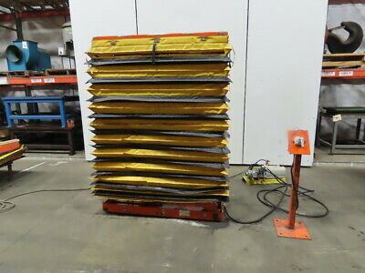 500 Lb Cap Air Over Hydraulic Lift Table 54x19 Top 17-12 To 76-12 High