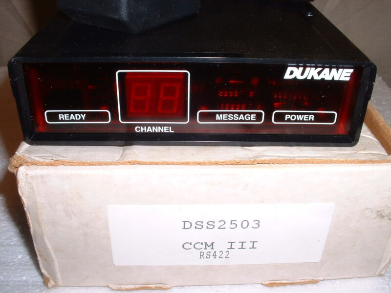 DUKANE CLASSROOM CONTROL MODULE 3 CCM III # DSS2503 **NEW IN BOX** RS422