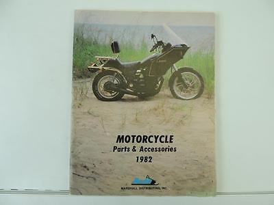 1982 Motorcycle Parts And Accessories Catalog Kawasaki Suzuki Honda L7172