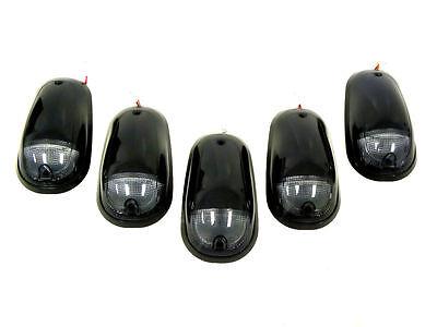 2003-2014 DODGE RAM 2500 3500 LED SMOKE CAB ROOF LIGHTS DUALLY TRUCK  5 PC SET