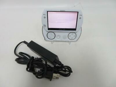Sony PlayStation Portable Go PSP GO Handheld PSP-N1001 (White) ~ Tested & Works!