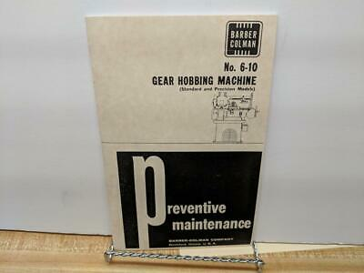 Gould /& Eberhardt 12 thru 48H Universal /& HS Spur Parts Manual
