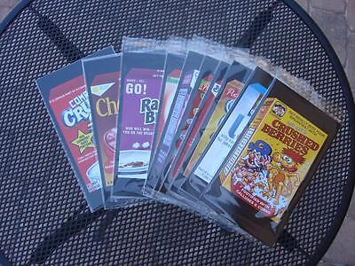 2017 WACKY PACKAGES 50TH ANNIVERSARY CHASE HOBBY OVERSIZED COMPLETE SET ALL 10
