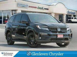 2019 Honda Pilot Black Edition AWD leather DVD navigation