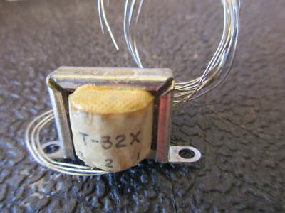Triad Miniature Audio Transformer T32x Sec 600ct Pri 1500ct 20mw Transistor Ln