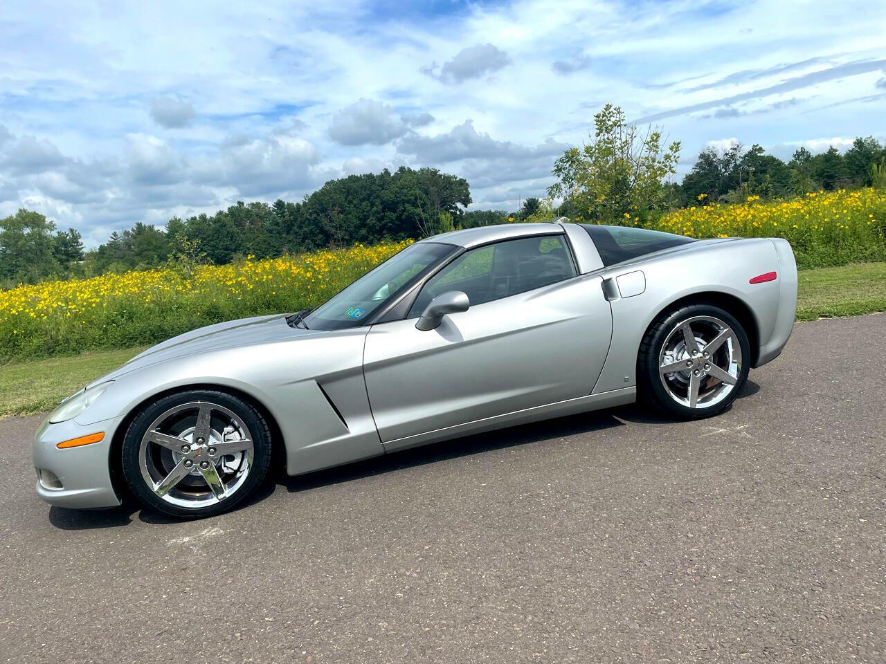 2007 Silver Chevrolet Corvette   | C6 Corvette Photo 2