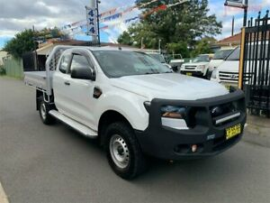 2017 Ford Ranger PX MkII MY18 XL 3.2 (4x4) White 6 Speed Automatic Super Cab Chassis