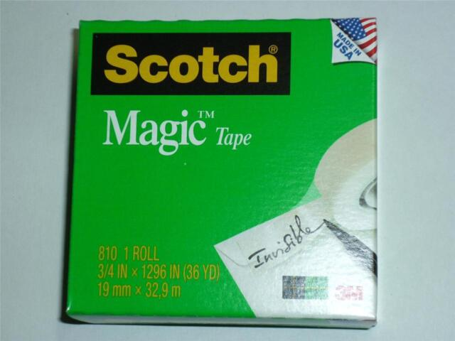 3M Scotch Magic Tape 810 Invisible Write on office tape sticky tape 19mmx32.9m