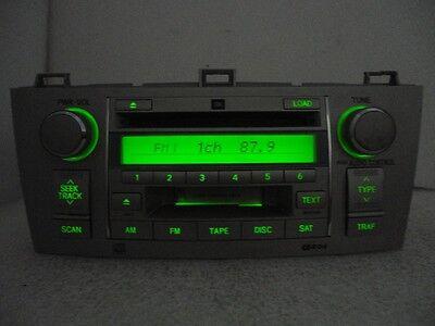 TOYOTA Solara OEM JBL Sat Radio Stereo 6 Disc Changer CD Player 86120-AA120 Toyota Sat-radio