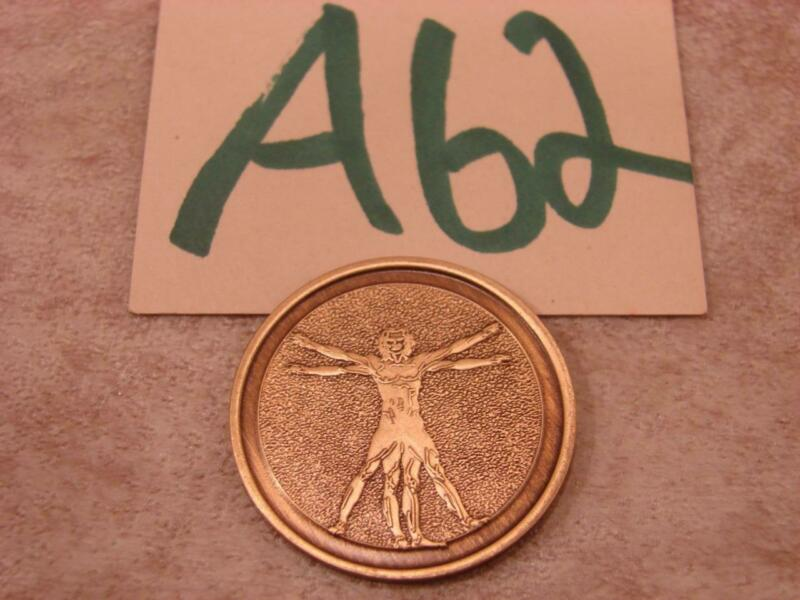 A62G VINTAGE AA/NA ? ANONYMOUS SOBRIETY COIN MEDALLION TOKEN FREE AT LAST