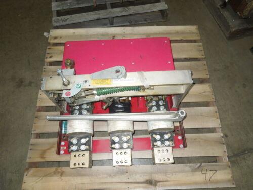 Kam-lok 3ft40st40 4000a 3ph 480v Switch Used E-ok