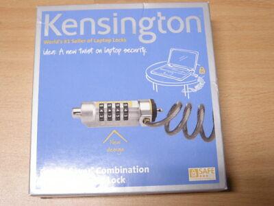 Portable Laptop Lock - Kensington ComboSaver Combination Portable Laptop Lock New