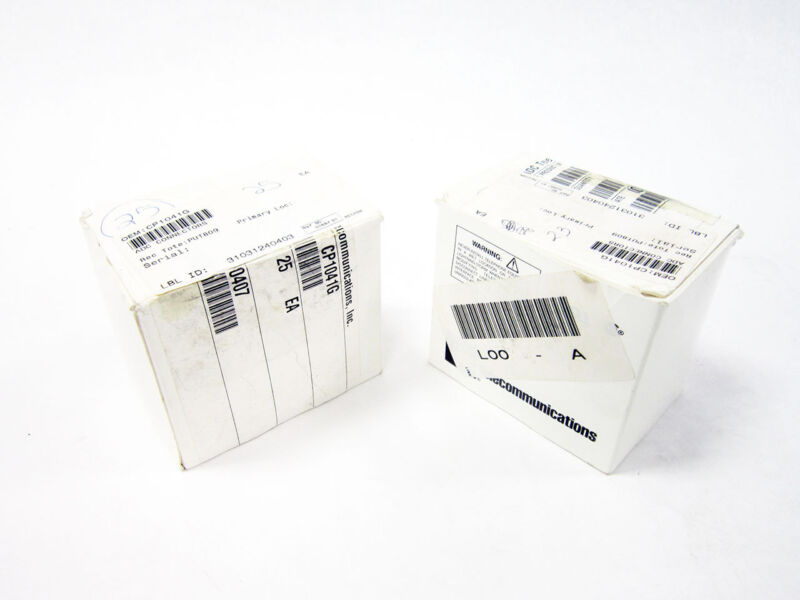 24X ADC CP1041G RF CONNECTOR AUDIO VIDEO JACKS & PATCH PATCHBAY