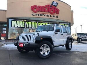 2014 Jeep Wrangler SPORT UNLIMITED,4X4,  BLUETOOTH, KEYLESS ENTR