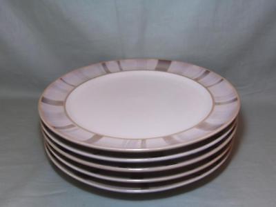 6 Denby Truffle Layers Dinner Plates 28cm/11