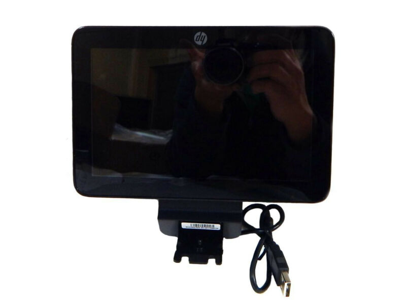 """HP Rear-Facing Customer Display - 7"""" LCD (822981) for RP9 systems"""
