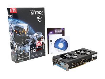 Brand New Sapphire NITRO+ Radeon RX 570 8GB GDDR5 PCI-E - OC Edition