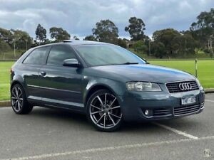 2005 Audi A3 8P Attraction Tiptronic Grey 6 Speed Sports Automatic Hatchback