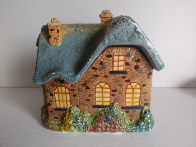 Thomas Kinkade Cottage House Cookie Jar