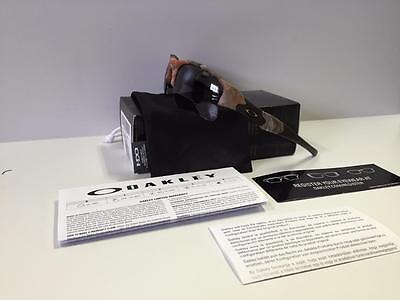 New Oakley Flak Jacket XLJ Sunglasses King Woodland Camo/Grey Free Shipping Hunt
