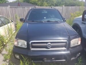 2002 Nissan Pathfinder LOADED! LEATHER, POWER SLIDER ROOF, 4x4