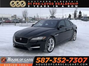 2016 Jaguar XF R-Sport / Back up Camera / Heated leather seats