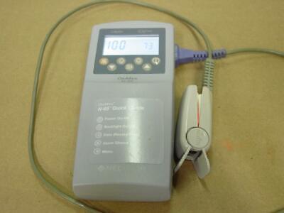 Nellcor Oximax N-65 Includes Batteries Patient Oximeter Monitor Spo2 Sao2 Da100a