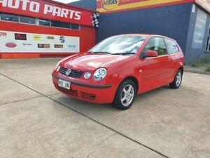 2002 Volkswagen Polo 9N MY2002 SE Red 4 Speed Automatic Hatchback Morphett Vale Morphett Vale Area Preview