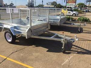 Fully Welded Galvanised Box Trailer 6x4 $1,100 8x5 $1,500 Brendale Pine Rivers Area Preview