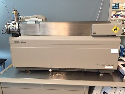 Sciex Api 4000 Qtrap Lcmsms With Agilent 1100 System And Nitrogen Generator
