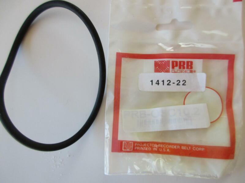 """(1 ea) 1412-22 Round Rubber Belt PRB EV Game  GC 10.2"""" IC x .170"""" C/S Thickness"""
