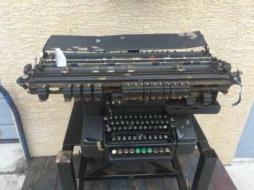 RARE Remington Rand Model 85 Bookkeeping Machine typewriter early computer 1930s