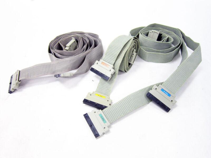 3X HP POD CABLES POD 1 - POD 6  ~ AGILENT KEYSIGHT LOGIC ANALYZER