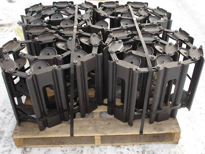 Brand New Over The Tire Steel Skid Steer Tracks For Bobcat 753 Others