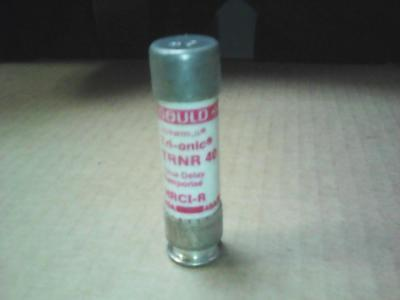 GOULD TRN-R-40 TIME DELAY FUSE 40AMP * NEW QUANTITY!! Time Delay Fuses