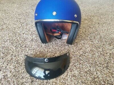 BEST DEAL!!!! Skull Crush 3/4 Open Face Helmet - XL flat