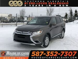 2018 Mitsubishi Outlander ES / Back Up Camera / Heated seats