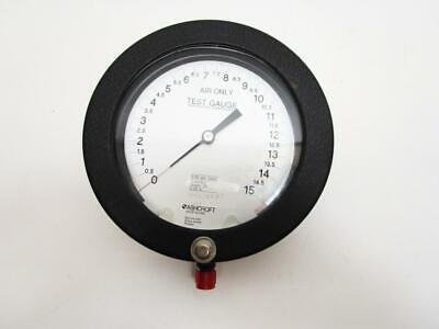 Ashcroft 1082 Test Gauge 0-15 Psi